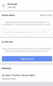 catalogare audience di facebook